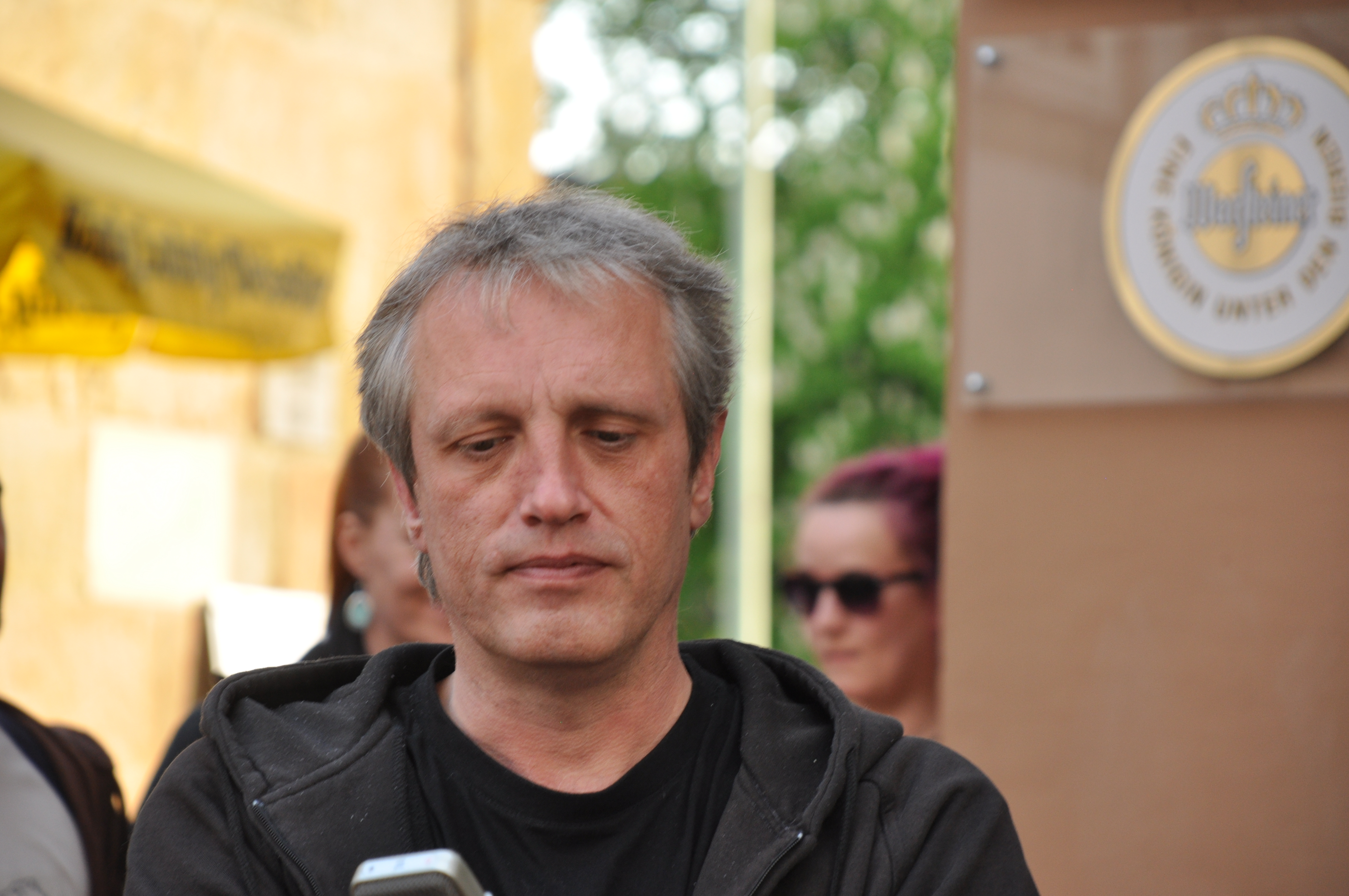 spontane Ansprache Carsten Montagsmahnwache Osnabrück, 5.5.2014
