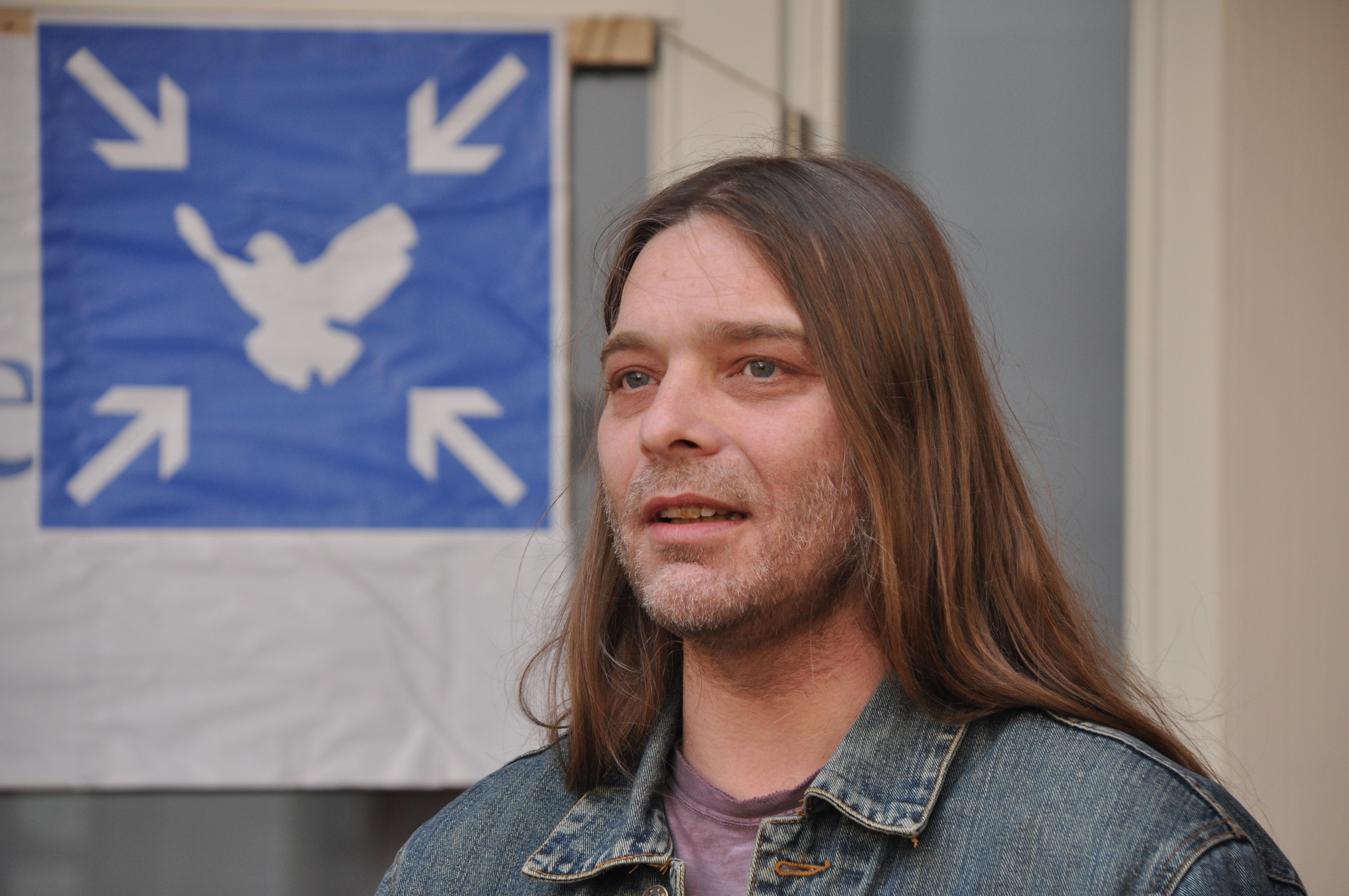 MontagsMahnwache Osnabrück, Dominik Edelmann, Mitinitiator, Ansprache  05.05.2014