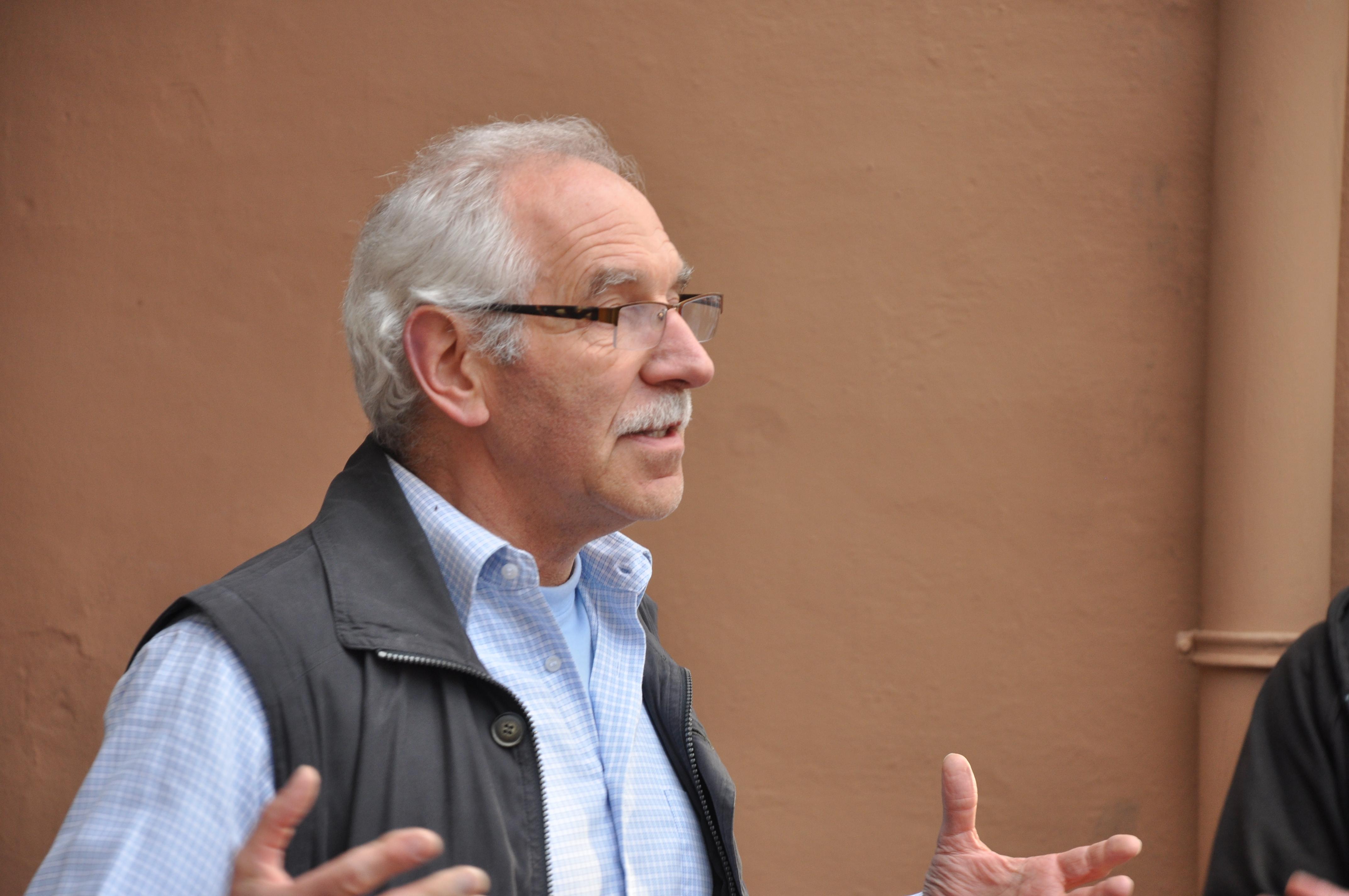 MontagsMahnwache Osnabrück, Jürgen Unkel 05.05.2014