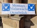 MontagsMahnwache Osnabrück, Logo, 05.05.2014