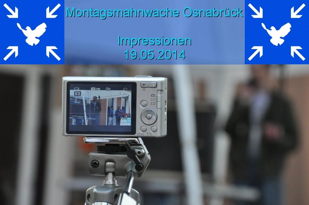 Impressionen Montagsmahnwache 19.05.2014 opener