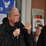 spontane Ansprache eines Teilnehmers (c) Montagsmahnwache Osnabrück, Photos Nicole Behrendt
