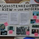 Kiew Schild (c) Montagsmahnwache Osnabrück, Photos Nicole Behrendt
