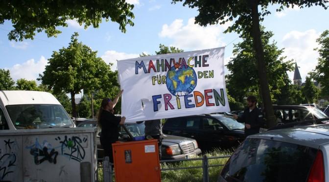 Bildergalerie 6-Städte-Mahnwache in Oldenburg (14.6.2014)