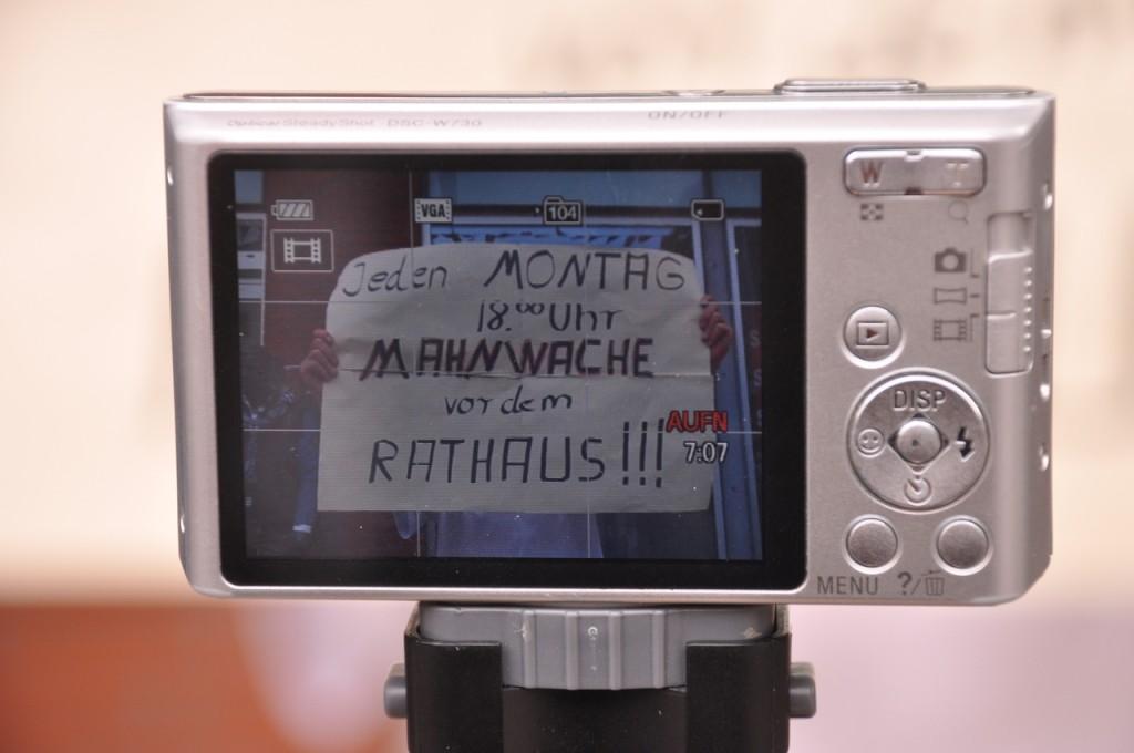 1. Flashmob Videogalerie 16.08.2014 Montagsmahnwache Osnabrück